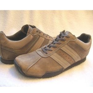 BED/STU Brown Leather Lace Up Casual Shoes, 11